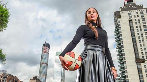 Hanging Out With Skylar Diggins in New York City